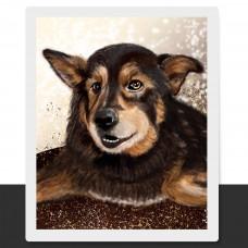 Портрет по фото на заказ вашего питомца. Цифровой портрет