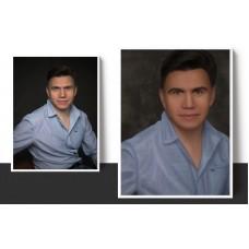 Мужской портрет по фото на заказ. Цифровой портрет