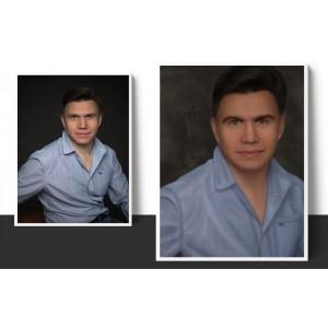 Мужской портрет по фото на заказ