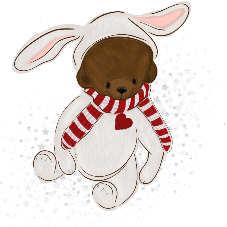 ПРОДАН логотип ПО ФОТО  мишка тедди (арт. 78-13)